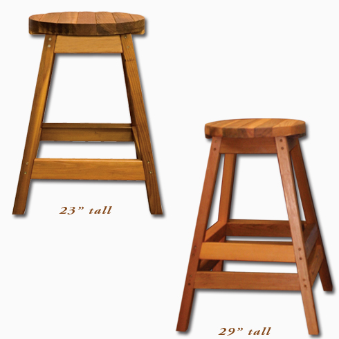 Cedar Wood Bar Stool Langley Vancouver Bc Arctic