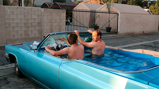 langley good times cruise in and a hot tub car